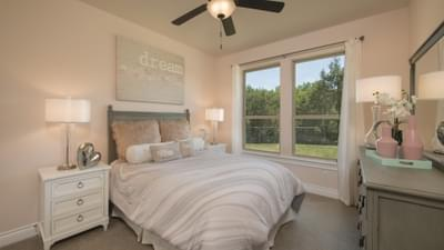 Bedroom 3 - Driftwood Model in Georgetown Design Center Tilson Custom Home Photo