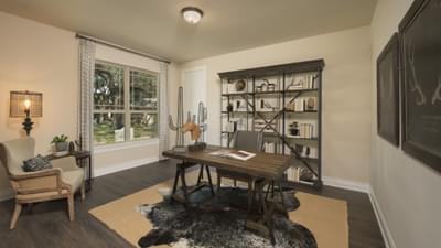 Study - Driftwood Model in Georgetown Design Center Tilson Custom Home Photo