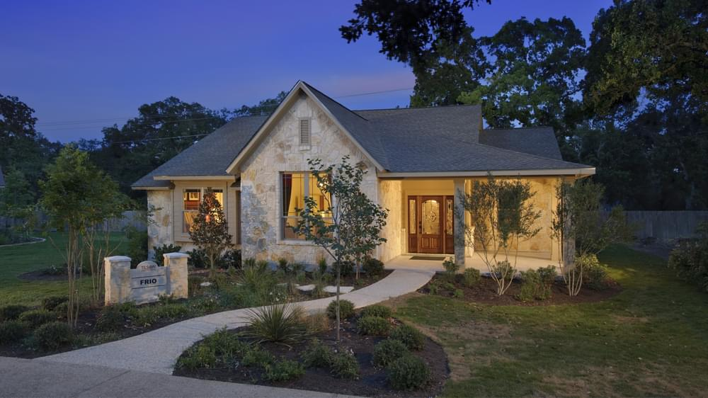 Frio Model Home in Boerne Texas