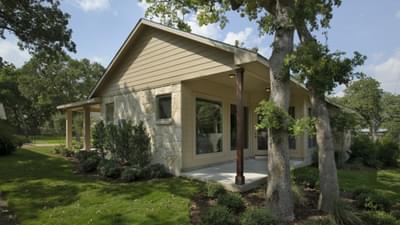 Elevation C  Back Porch - Frio Model in Boerne Design Center Tilson Custom Home Photo