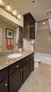 Bathroom 2 - The Guadalupe Model in San Marcos Design Center Tilson Custom Home Photo