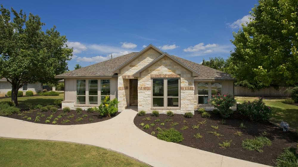 Guadalupe Model Home in San Marcos Texas