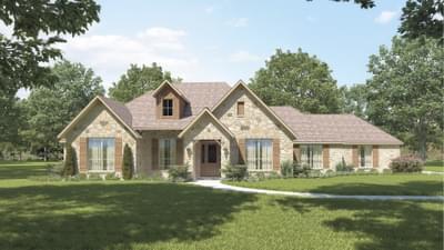Elevation B - The Hillsboro Tilson Custom Home Photo