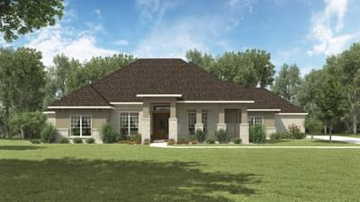 Elevation C - The Hillsboro Tilson Custom Home Photo