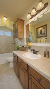Bath 2 - Hidalgo Model in San Marcos Tilson Custom Home Photo