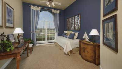 Bedroom 4 - Hidalgo Model in San Marcos Tilson Custom Home Photo