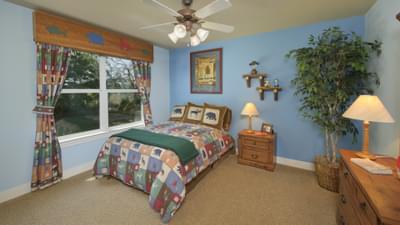 Bedroom 2 - Hidalgo Model in San Marcos Tilson Custom Home Photo
