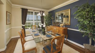 Dining Room - Hidalgo Model in San Marcos Tilson Custom Home Photo