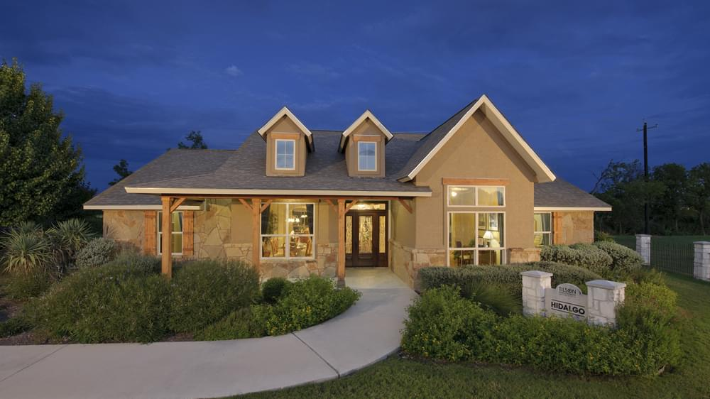 Hidalgo Model Home in San Marcos Texas