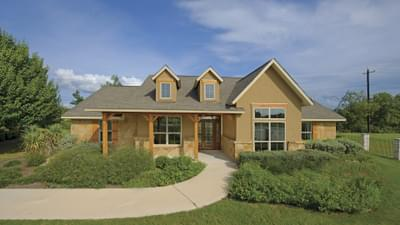 Elevation D - Hidalgo Model in San Marcos Tilson Custom Home Photo