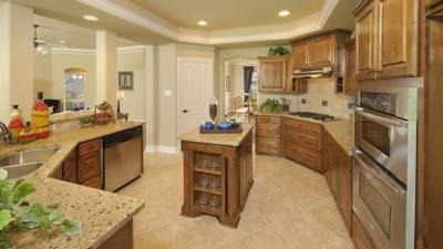 Kitchen - Hidalgo Model in San Marcos Tilson Custom Home Photo