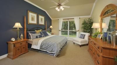 Master Bedroom - Hidalgo Model in San Marcos Tilson Custom Home Photo