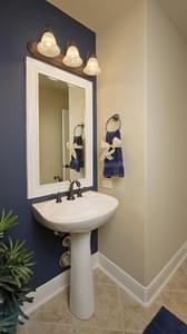 Powder Room - Hidalgo Model in San Marcos Tilson Custom Home Photo