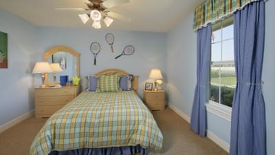 Bedroom 3 - Hidalgo Model in San Marcos Tilson Custom Home Photo