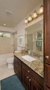 Bathroom 2 - The Magnolia Model in Katy Design Center Tilson Custom Home Photo