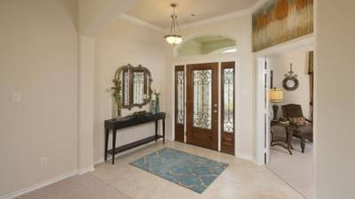Foyer - The Magnolia Model in Katy Design Center Tilson Custom Home Photo