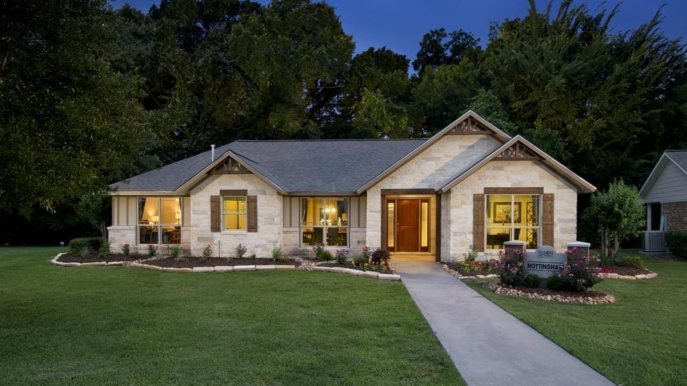 Nottingham Model Home in Angleton Texas