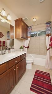 Bathroom 2 - Nueces Model at Spring Design Center Tilson Custom Home Photo