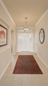 Foyer - Nueces Model at Spring Design Center Tilson Custom Home Photo