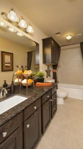 Bathroom 2 - The Parker Model in Weatherford Design Center Tilson Custom Home Photo