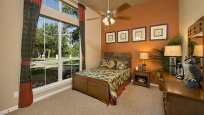 Master Bedroom - The Parker Model in Weatherford Design Center Tilson Custom Home Photo