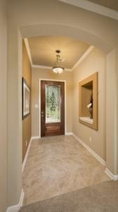 Foyer - The Parker Model in Weatherford Design Center Tilson Custom Home Photo
