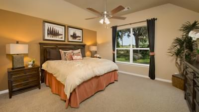 Bedroom 2 - The Parker Model in Weatherford Design Center Tilson Custom Home Photo