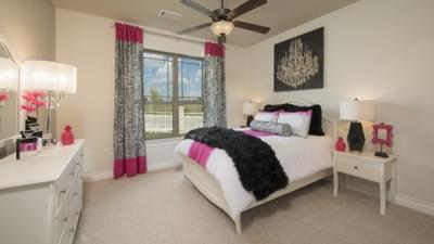 Bedroom 2 - The Rockwall Model in McKinney Design Center Tilson Custom Home Photo