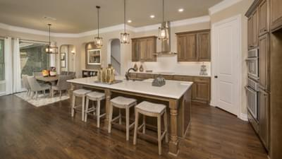 Kitchen - The Rockwall Model in McKinney Design Center Tilson Custom Home Photo