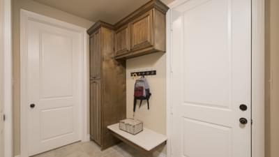 Drop Zone - The Rockwall Model in McKinney Design Center Tilson Custom Home Photo
