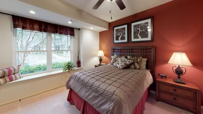 Bedroom 3 - Frio Model in Boerne Design Center Tilson Custom Home Photo
