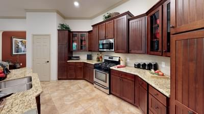 Kitchen Area - Frio Model in Boerne Design Center Tilson Custom Home Photo