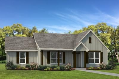 Elevation C - The Harrisburg Tilson Custom Home Photo