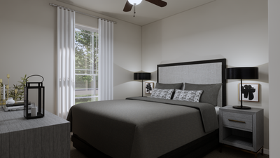 Bedroom 2 – The Gonzales | Rendered Home - May Contain Upgrades and Plan Changes Tilson Custom Home Photo