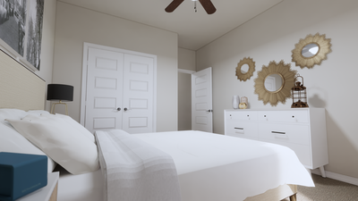 Bedroom 3 – The Gonzales | Rendered Home - May Contain Upgrades and Plan Changes Tilson Custom Home Photo