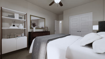 Bedroom 4 – The Gonzales | Rendered Home - May Contain Upgrades and Plan Changes Tilson Custom Home Photo