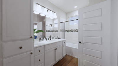 Master Bath – The Gonzales | Rendered Home - May Contain Upgrades and Plan Changes Tilson Custom Home Photo