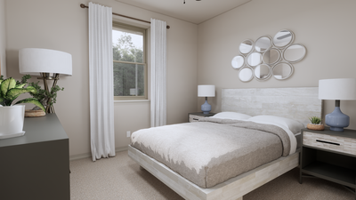 Bedroom 3 - The Tampico | Rendered Home - May Contain Upgrades and Plan Changes Tilson Custom Home Photo