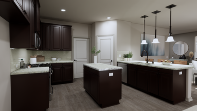 Kitchen - The Tampico | Rendered Home - May Contain Upgrades and Plan Changes Tilson Custom Home Photo