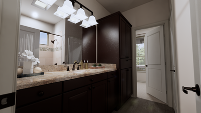 Master Bathroom - The Tampico | Rendered Home - May Contain Upgrades and Plan Changes Tilson Custom Home Photo