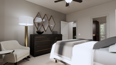 Master Bedroom - The Tampico | Rendered Home - May Contain Upgrades and Plan Changes Tilson Custom Home Photo
