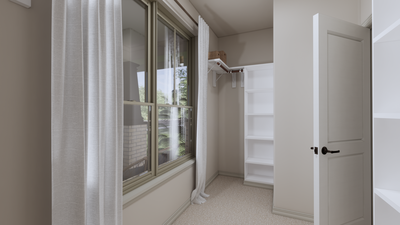 Master Bedroom Walk-In-Closet - The Tampico | Rendered Home - May Contain Upgrades and Plan Changes Tilson Custom Home Photo