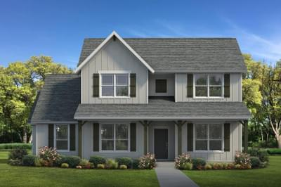The Cedar Creek   Elevation C Tilson Custom Home Photo