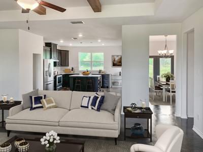 Family Room and Alternate Kitchen   Harrisburg C - Customer Home Tilson Custom Home Photo