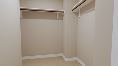 Bedroom 2 Closet - The Goliad | Rendered Home - May Contain Updates and Plan Changes Tilson Custom Home Photo