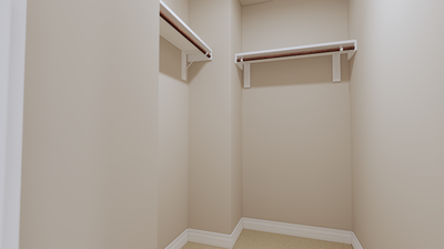 Bedroom 3 Closet - The Goliad | Rendered Home - May Contain Updates and Plan Changes Tilson Custom Home Photo