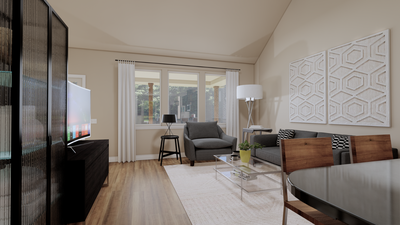 Living Room - The Goliad | Rendered Home - May Contain Updates and Plan Changes Tilson Custom Home Photo