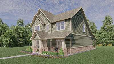 Elevation D - The Goliad | Rendered Home - May Contain Updates and Plan Changes Tilson Custom Home Photo