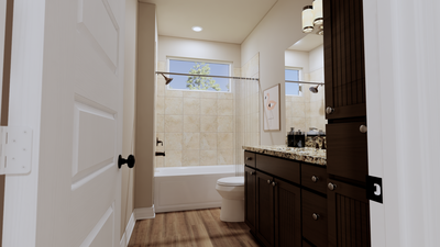 Bathroom 2 - The Goliad | Rendered Home - May Contain Updates and Plan Changes Tilson Custom Home Photo