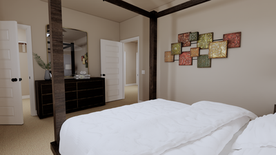 Bedroom 2 - The Goliad | Rendered Home - May Contain Updates and Plan Changes Tilson Custom Home Photo